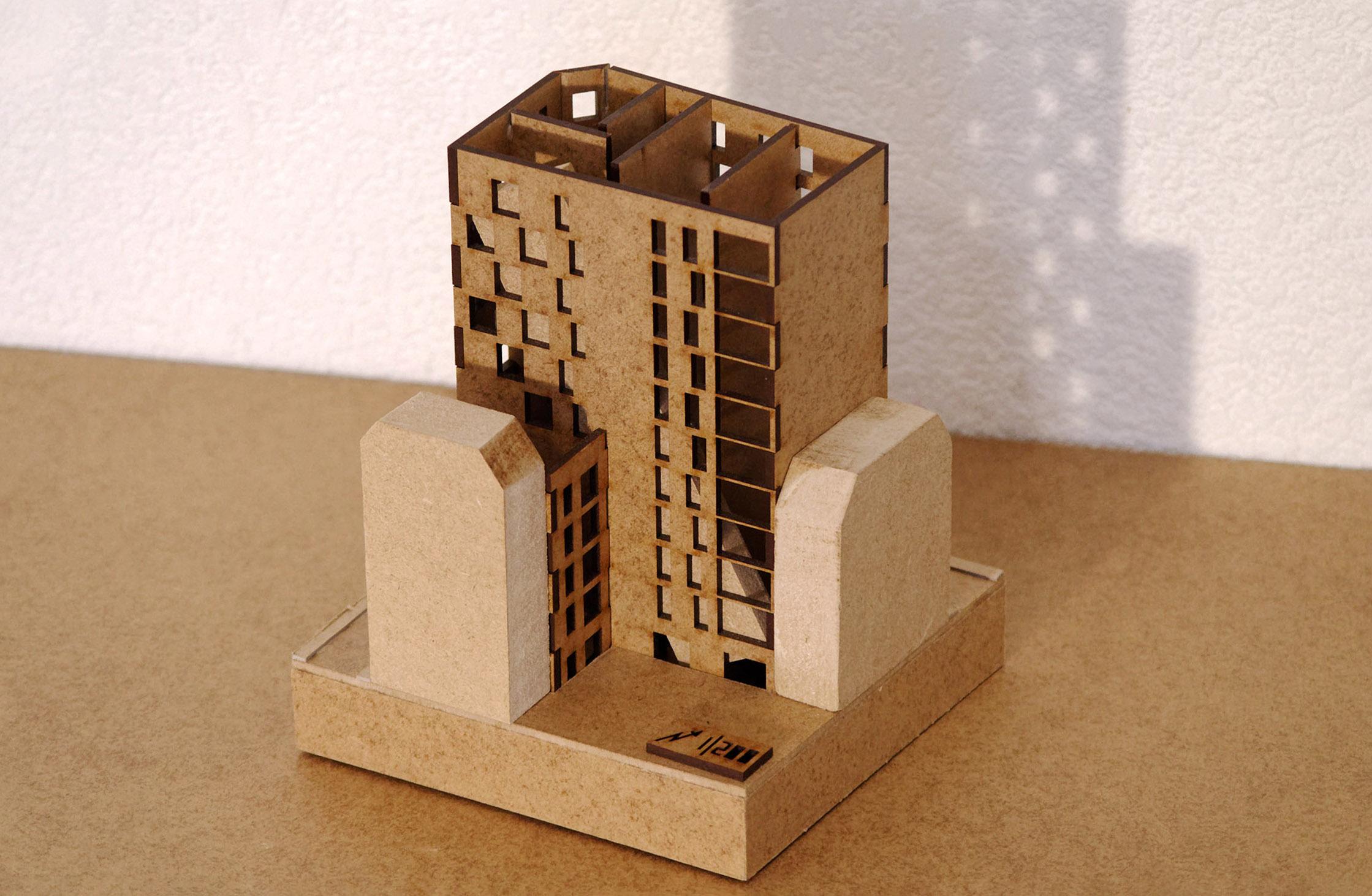 maquette structurelle