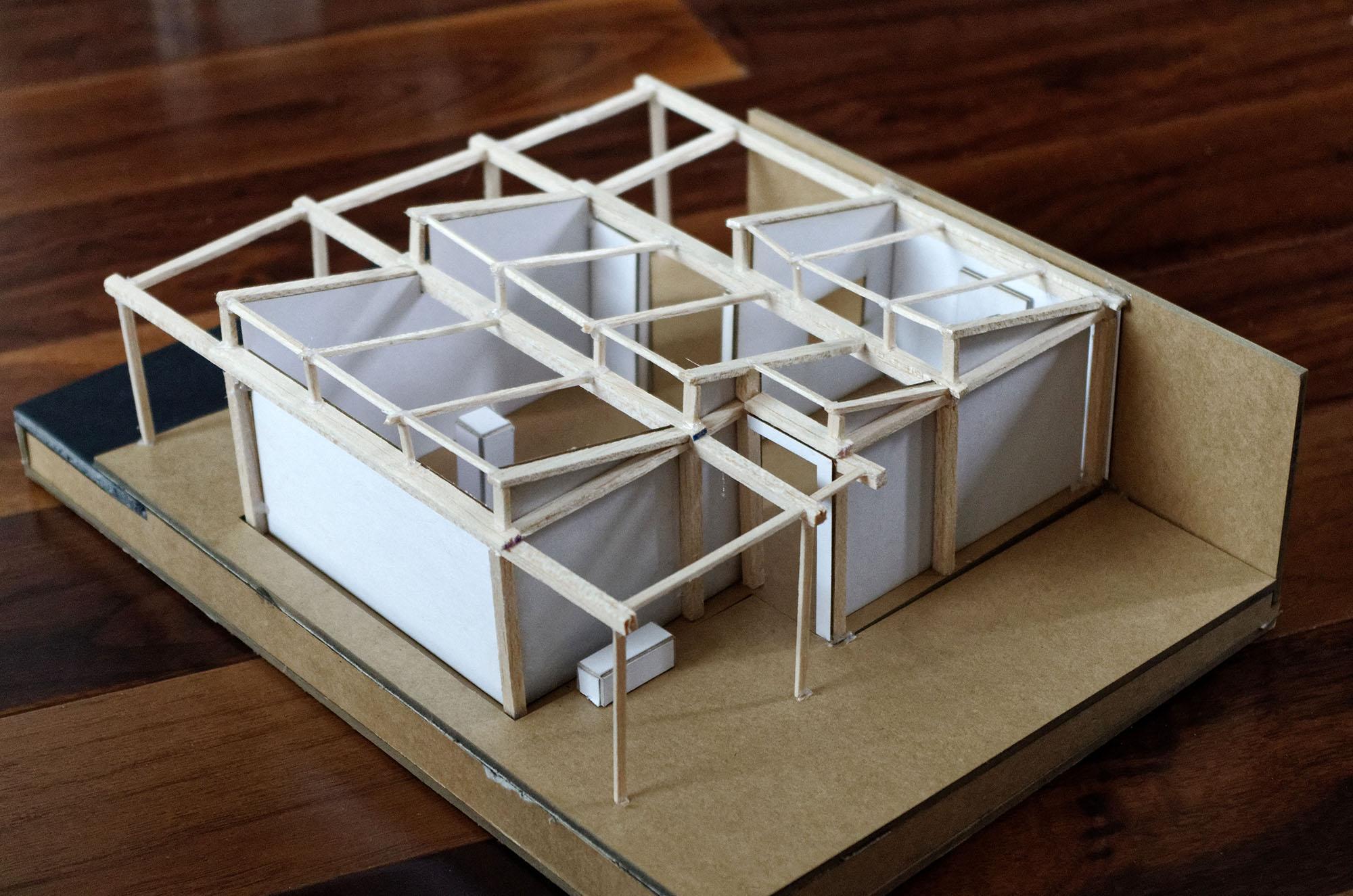pavillon - maquette